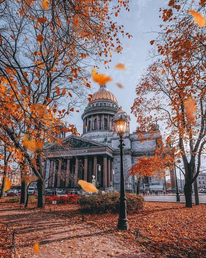 những nơi mùa thu đẹp nhất thế giới-St._Petersburg-nga