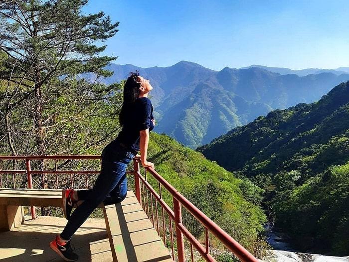 Miraculous mountain - an impressive Korean tourist destination