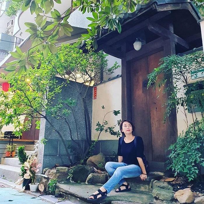 các khu nhà kiểu Nhật - điểm nhấn của phố ẩm thực Yongkang