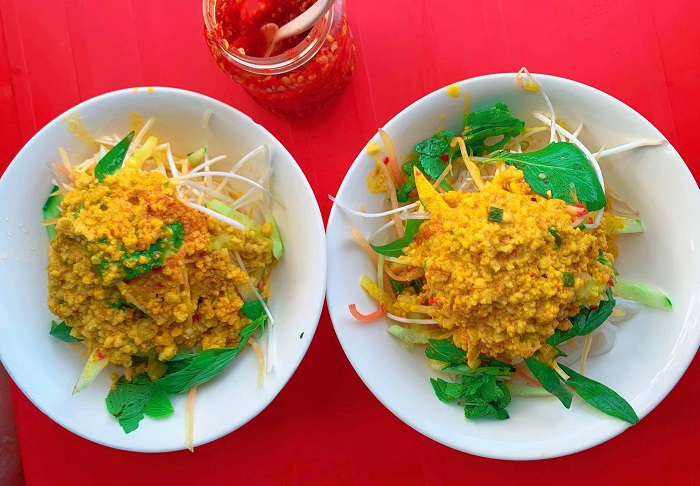 Delicious restaurants in Phu Quoc - Bun Ut Ut Luoi