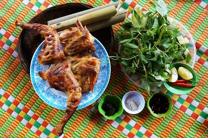 Gà nướng Ia Gui là một trong những quán ăn ngon ở Pleiku