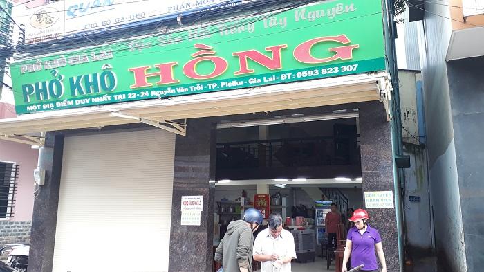 Phở Hồng - quán ăn ngon ở Pleiku