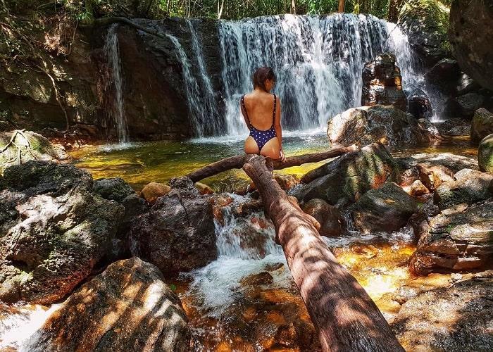 Phu Quoc Painting Stream - relaxing waterfall bathing