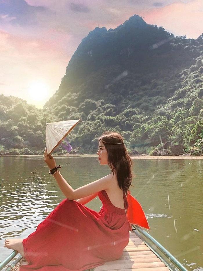 Nhắc đến điểm du lịch Ninh Bình nhất định phải nhớ đến Thung Nắng
