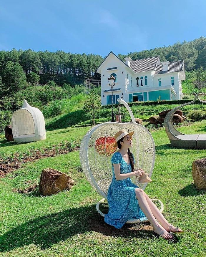amusement park - interesting spot in European village of Da Lat