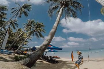 Du lịch Bãi Khem Phú Quốc tắm biển, chèo thuyền kayak và câu mực đêm