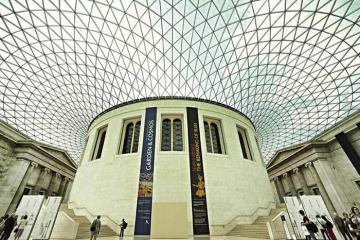 Tới Bảo tàng Anh tham quan một vòng các nền văn minh trên thế giới
