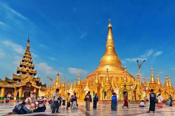 Ngẩn ngơ ngắm nhìn ngôi chùa cổ Botataung linh thiêng tại Yangon – Myanmar