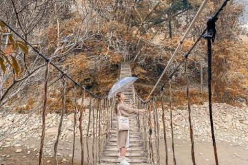 Cầu Mây Sapa: mộc mạc mà sao say lòng đến thế!