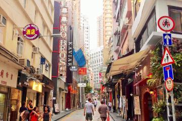 Soho Street – nơi được mệnh danh là khu phố 'sành điệu' nhất Hong Kong