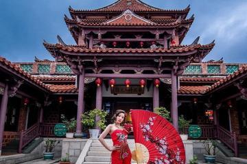 Khám phá kiến trúc tinh xảo của chùa Nankunshen Đài Nam
