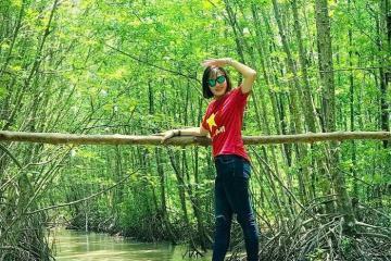 Lạc vào xứ sở huyền bí của rừng đước Năm Căn ở Cà Mau