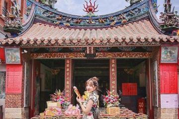 Đền Hà Hải Đài Bắc - ngôi đền se duyên 'mát tay' nhất xứ Đài