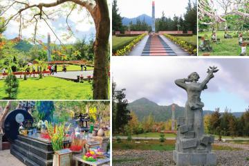 Du lịch Côn Đảo tham quan nghĩa trang Hàng Dương linh thiêng