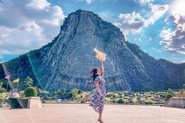 Check-in núi Phật Vàng Pattaya - kỳ quan Phật giáo nổi tiếng bậc nhất Thái Lan