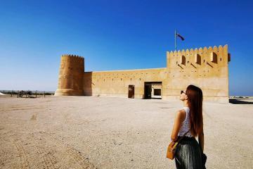 Đi tìm thời gian đã mất tại phế tích Al Zubarah ở Qatar