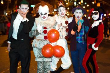 Lạc vào 'thế giới quỷ dữ' giữa lòng Hà Hội trong ngày lễ Halloween