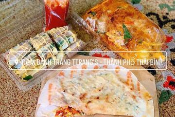 Lập team 'chén sập' các quán ăn vặt ngon ở Thái Bình