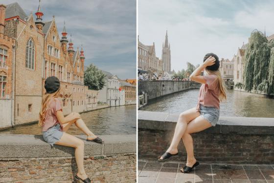 Đi thuyền trên kênh đào Bruges, khám phá thành phốtheo cách lãng mạn nhất