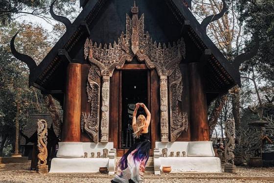 'Choáng ngợp' trước kiến trúc huyền bí của bảo tàng Baan Dam ở Chiang Rai