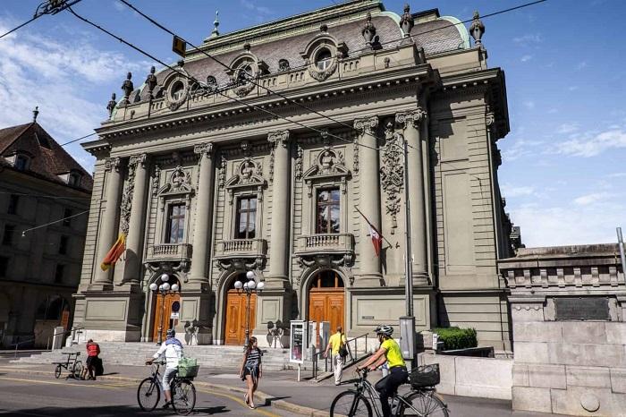 Neoclassical Town Hall - Bern Switzerland Tourist Experiences