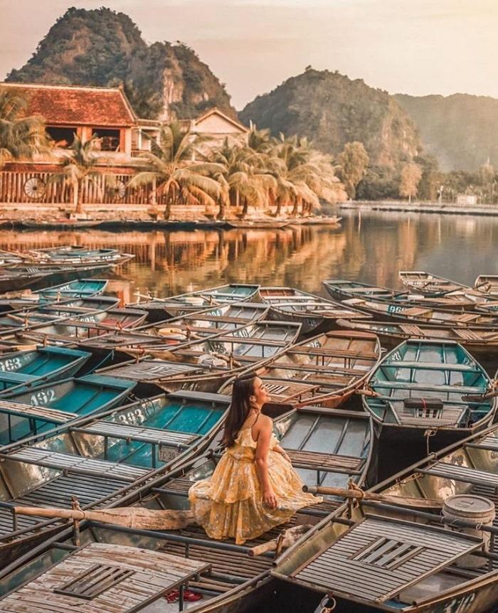 Nhắc đến các điểm du lịch Ninh Bình không thể quên Tam Cốc - Bích Động