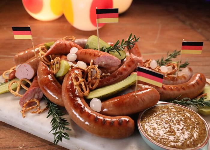 Xúc xích Đức - Món ăn ngon, đặc sản ở Đức nổi tiếng nhất