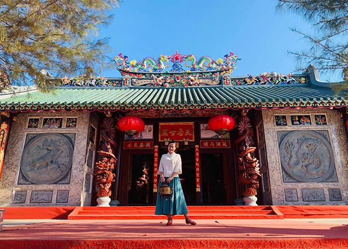 Về Sóc Trăng đừng quên viếng chùa Bà Thiên Hậu Mỹ Xuyên linh thiêng