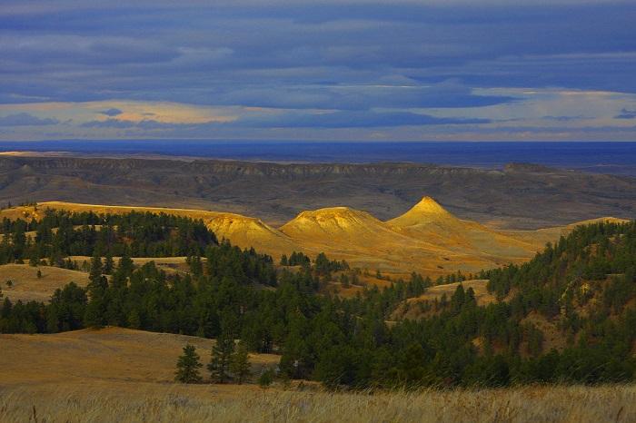 Địa điểm du lịch Montana Khu bảo tồn thảo nguyên Hoa Kỳ
