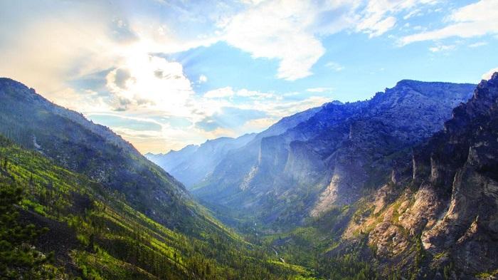 Địa điểm du lịch Montana: Hẻm núi Blodgett
