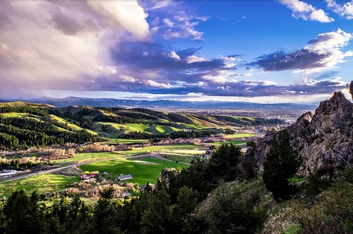 Địa điểm du lịch Montana  Thành phố Bozeman