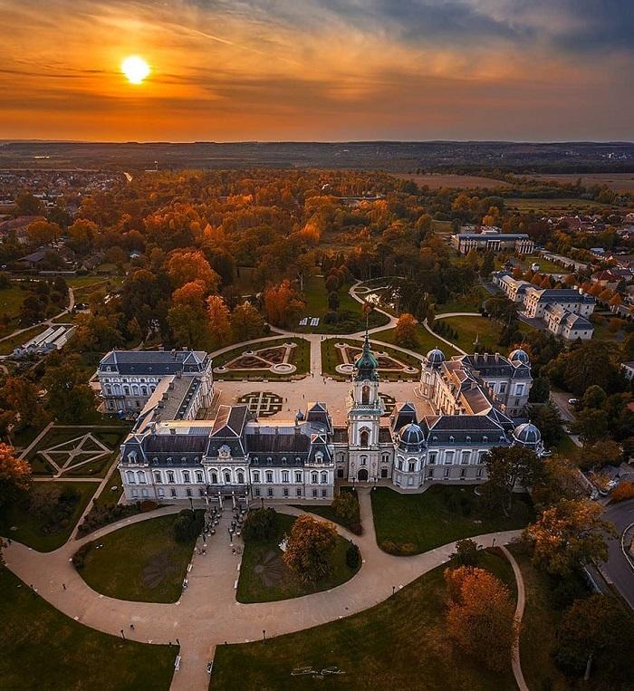 Cung điện Festetics Hồ Balaton Hungary