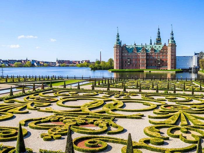 Cung điện Frederiksborg - những lâu đài đẹp nhất ở Đan Mạch