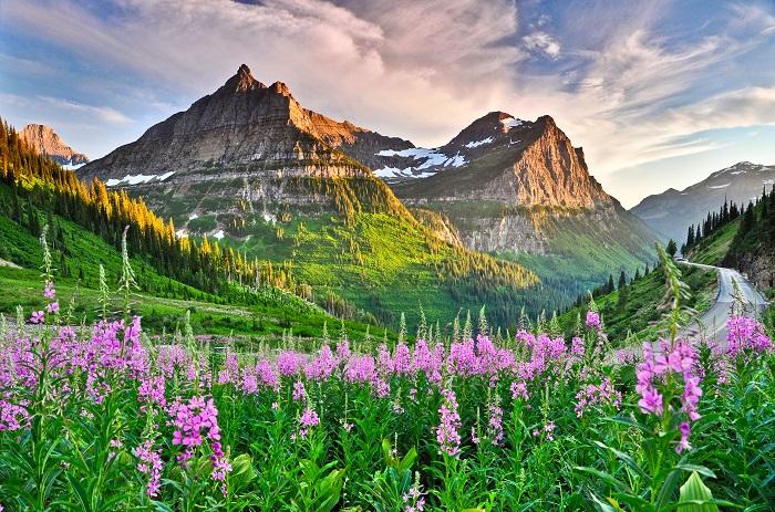 Địa điểm du lịch Montana Vườn quốc gia Glacier
