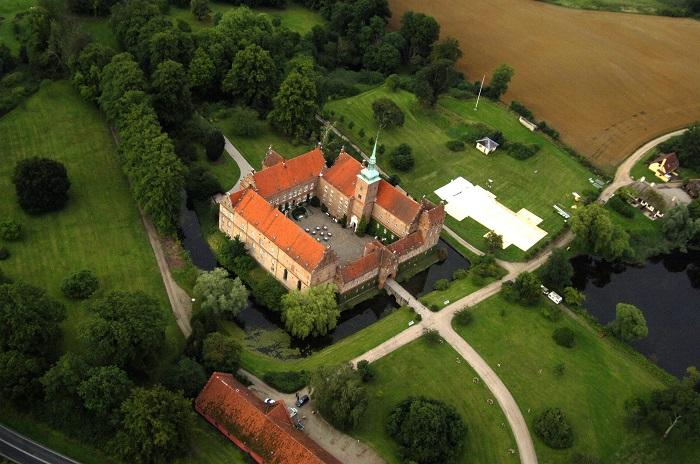 Lâu đài Holckenhavn - Những lâu đài đẹp nhất ở Đan Mạch