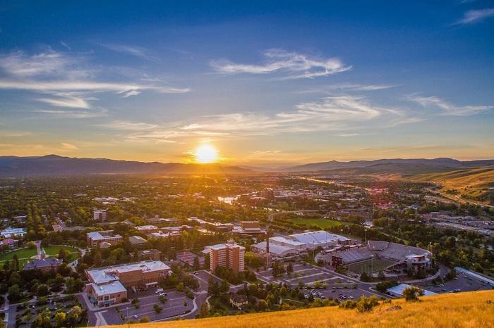 Địa điểm du lịch Montana: Thành phốMissoula