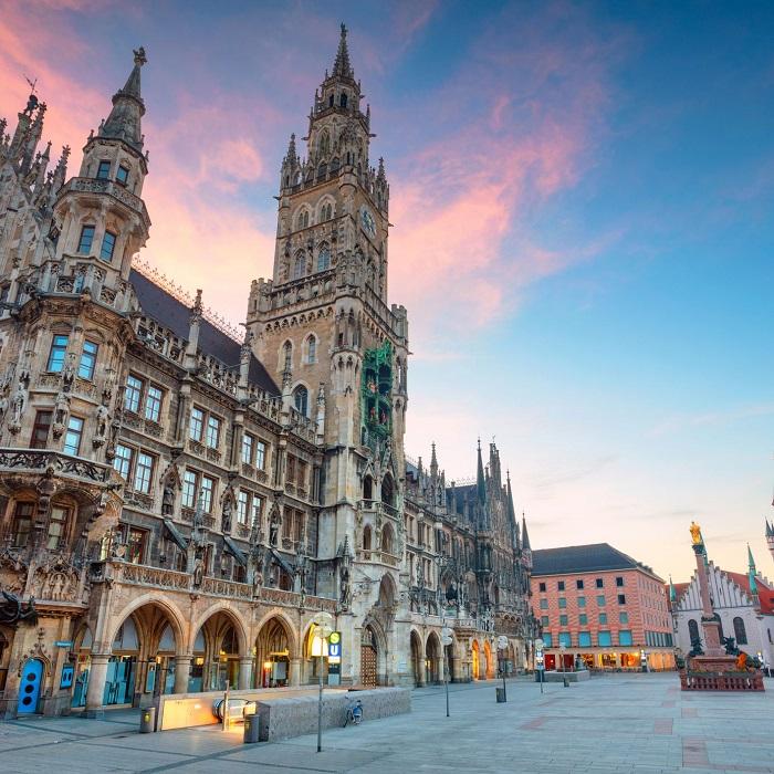 Munich Đức - Du lịch Bavaria