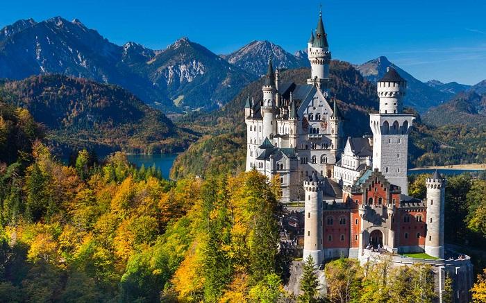 Lâu đài Neuschwanstein Du lịch Bavaria