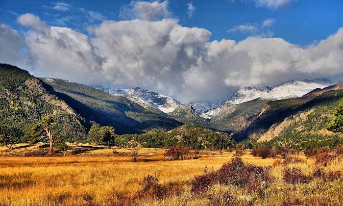 Địa điểm du lịch Montana Dãy núi Rocky