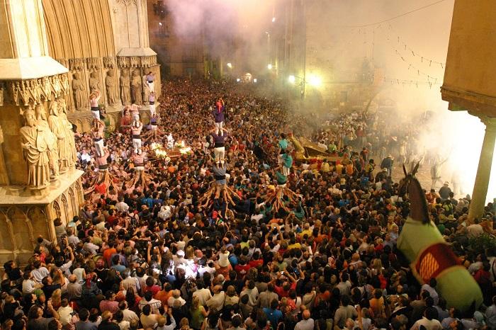 Lễ hội Santa Tecla festival Du lịch Tarragona