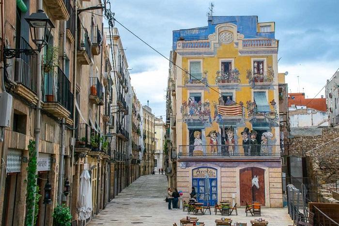 Đường phố ở Tarragona Du lịch Tarragona