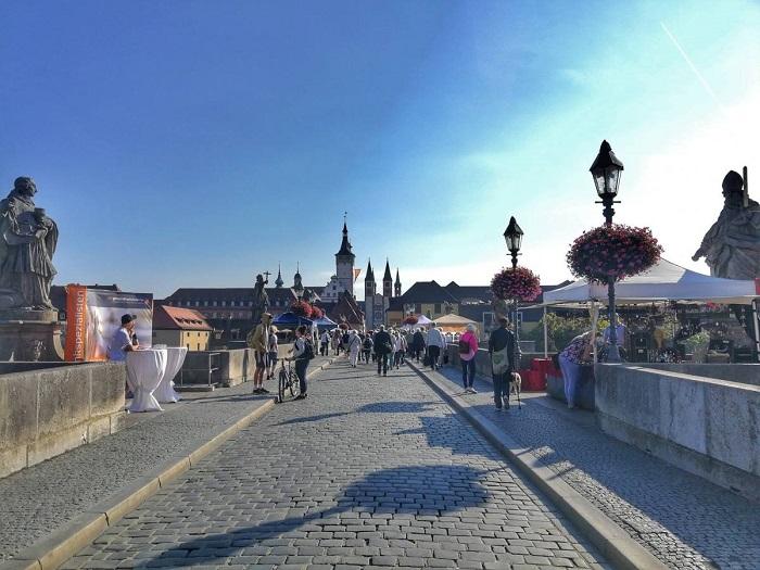 Thị trấnWürzburg - Du lịch Bavaria