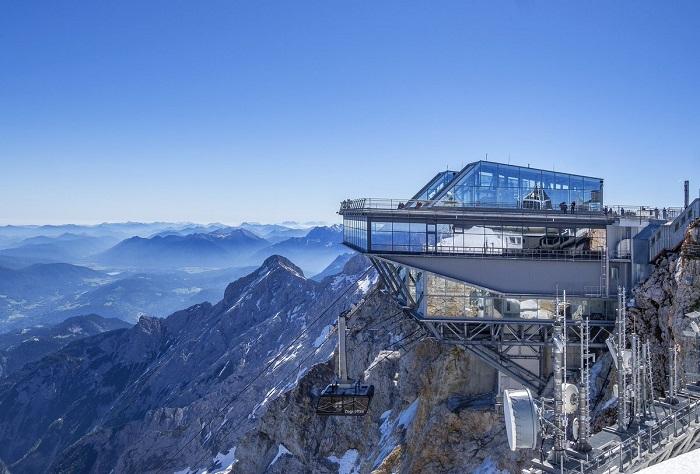 Đỉnh núiZugspitze Du lịch BavariaDu lịch Bavaria