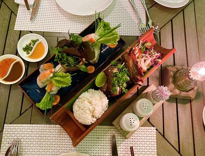 Ăn gì khi đến An Lâm Retreats Ninh Vân Bay Nha Trang