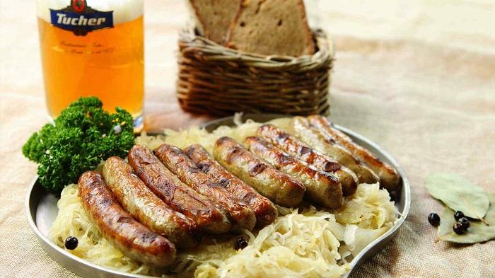 Nuremberg bratwurst - Du lịch Bavaria