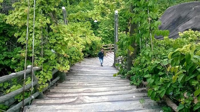 chùa Thái Sơn núi Cậu Bình Dương- trekking