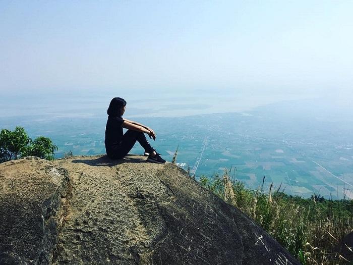 chùa Thái Sơn núi Cậu Bình Dương- sống ảo