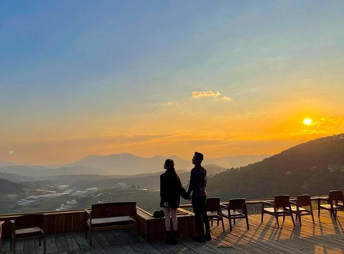 Đà Lạt là địa điểm ngắm hoàng hôn đẹp ở Việt Nam
