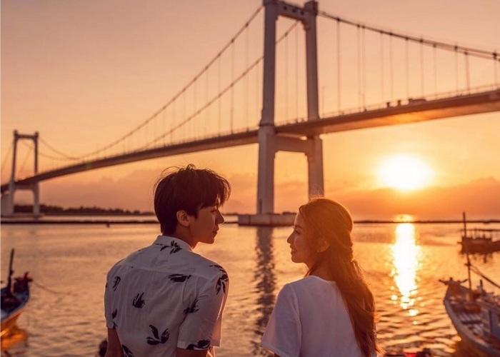Đà Nẵng là địa điểm ngắm hoàng hôn đẹp ở Việt Nam
