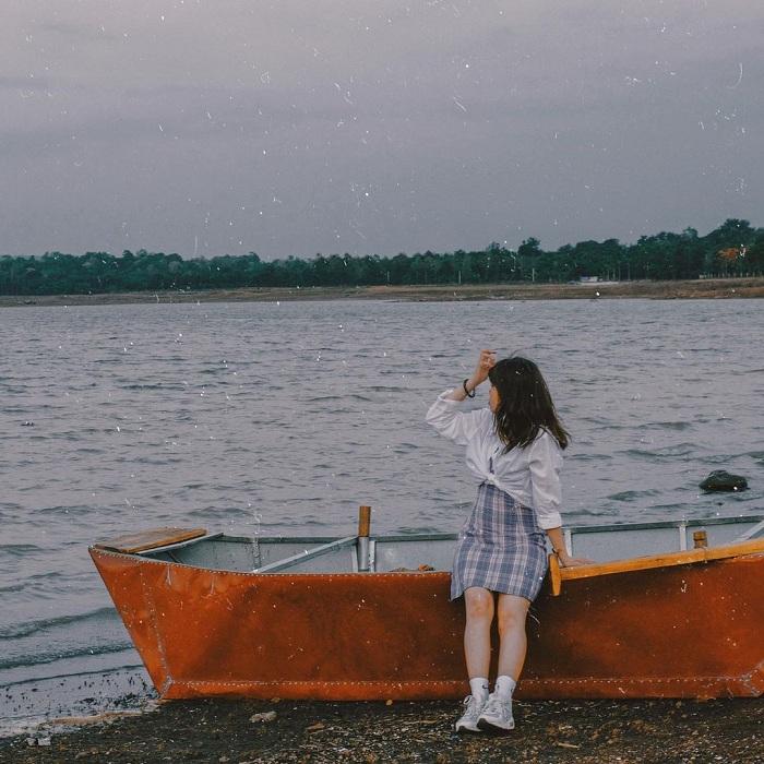 Ea Kao là hồ nước đẹp ở Tây Nguyên